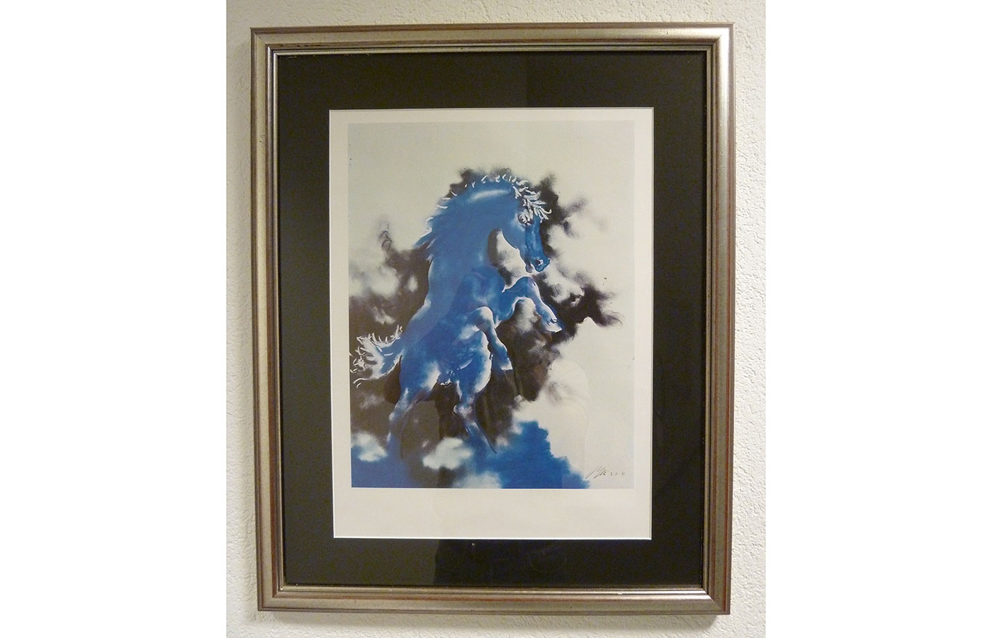 """Kunstdruck Hans Erni """"Springendes Pferd"""""""