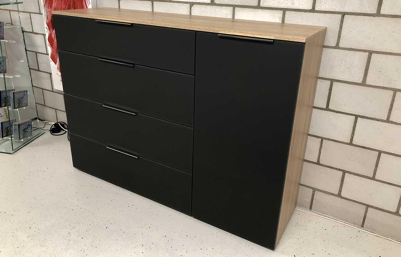 Sideboard 1-türig / 4 Schubladen