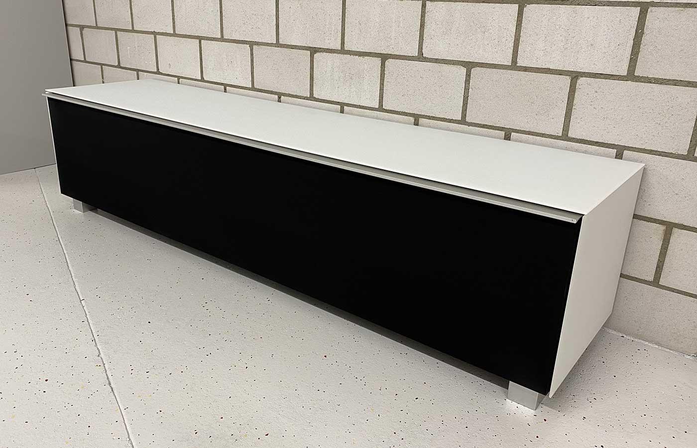 Soundboard Glas weiss matt